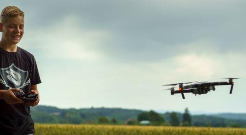 Drohnen-Workshop – Runter kommen sie immer!