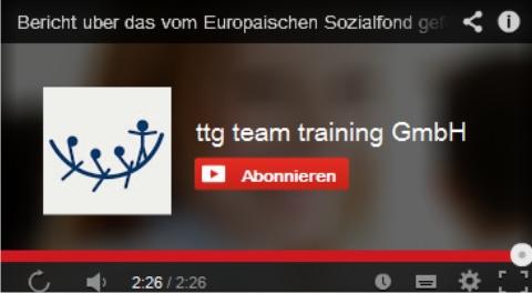 Der Kanal Ihrer Wahl – team training auf YouTube
